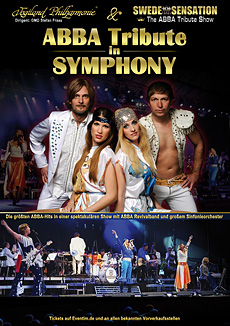 ABBA TRIBUTE IN SYMPHONY - Poster A1